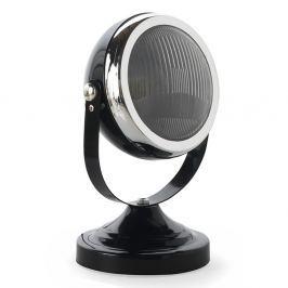 Mic fekete asztali lámpa ezüstszínű elemekkel - Geese