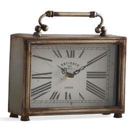 Old ezüstszínű asztali óra - Geese