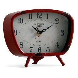 Old piros asztali óra - Geese