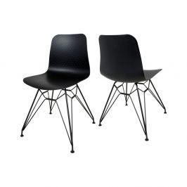 Paris fekete étkezőbe való szék - Canett