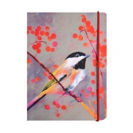 Carolyn Carter gumis, A6 méretű jegyzetfüzet, 80 lapos - Portico Design