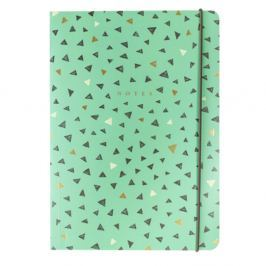 Triangles jegyzetfüzet, 160 lapos - Portico Designs