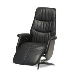 Delta fekete bőr állítható szék - Furnhouse