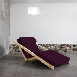 Figo Raw/Purple Plum átalakítható fotel - Karup