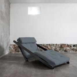 Figo Wenge/Gris átalakítható fotel - Karup