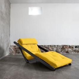 Figo Wenge/Amarillo átalakítható fotel - Karup
