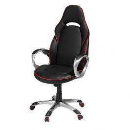 Speedy fekete-piros irodai szék - Furnhouse