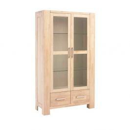 Verona tölgyfa üvegajtós szekrény - Furnhouse