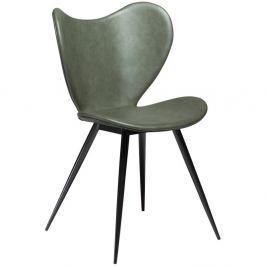 Dreamer zöld műbőr szék - DAN-FORM Denmark
