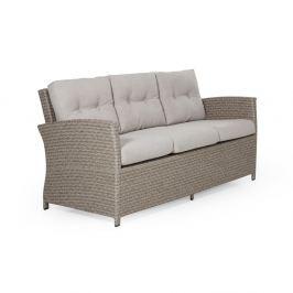 Soho bézs 3 személyes kerti kanapé - Brafab
