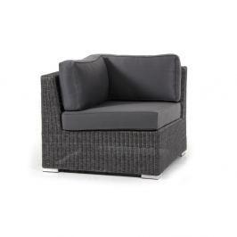 Brookline sötétszürke kanapé sarokelem - Brafab