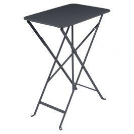 Bistro antracitszürke kerti asztalka, 37 x 57 cm - Fermob