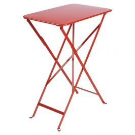 Bistro piros kerti asztalka, 37 x 57 cm - Fermob