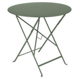 Bistro szürkészöld kerti asztalka, Ø 77 cm - Fermob