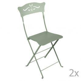 Bagatelle szürkészöld kerti szék szett, 2 db-os - Fermob