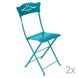 Bagatelle kék kerti szék szett, 2 db-os - Fermob