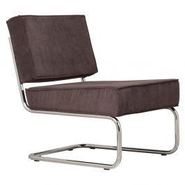 Rib szürke fotel - Zuiver