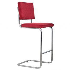 RITEM_IDge Rib piros bárszék - Zuiver