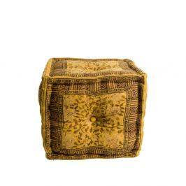 Indian sárga puff - Dutchbone