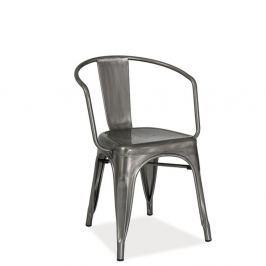 Alvass szürke acél szék - Signal