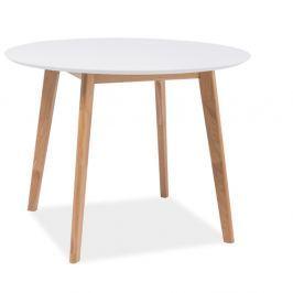 Mosso étkezőasztal fehér asztallappal - Signal