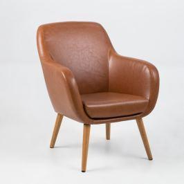 Sally barna fotel - Actona
