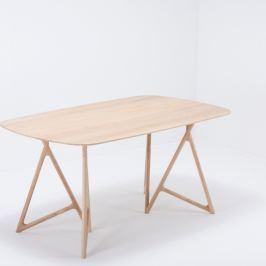 Koza tömör tölgyfa étkezőasztal, 180 x 90 cm - Gazzda