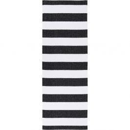 Birkas fekete-fehér bel-/kültéri futószőnyeg, 70 x 300 cm - Narma