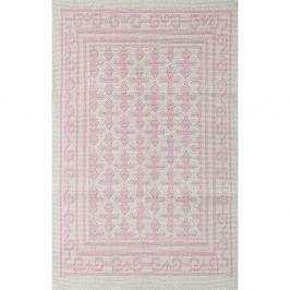 Jamila halványrózsaszín szőnyeg, 140 x 200 cm