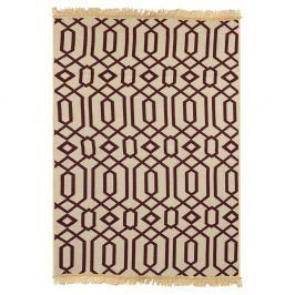 Ya Rugs Kenar borvörös szőnyeg, 80 x 150 cm