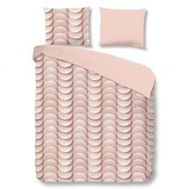 Emerged egyszemélyes rózsaszín pamut ágyneműhuzat garnitúra, 140 x 200 cm - Good Morning