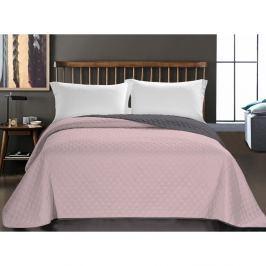Axel rózsaszín mikroszálas ágytakaró, 170 x 210 cm - DecoKing