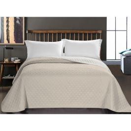 Axel bézs mikroszálas ágytakaró, 220 x 240 cm - DecoKing