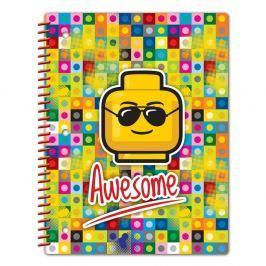 Iconic Awesome spirál füzet A5 - LEGO®