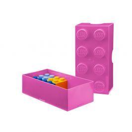 Rózsaszín tízórais doboz - LEGO®