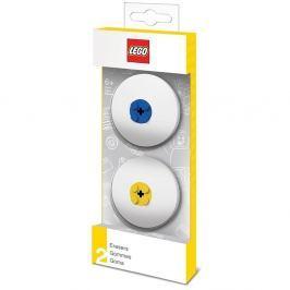 2 darabos radírgumi szett, kék és sárga részletekkel - LEGO® Naplók