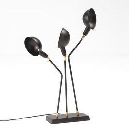 Laas fekete asztali lámpa - Thai Natura