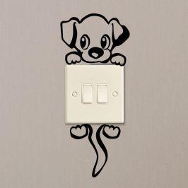 Cut Dog öntapadós matrica - Ambiance
