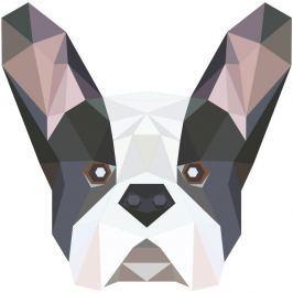 Origami Bulldog öntapadós matrica - Ambiance