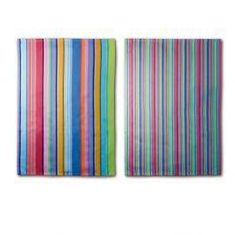 Purple Stripes kétrészes konyharuha szett, 70 x 50 cm - Remember