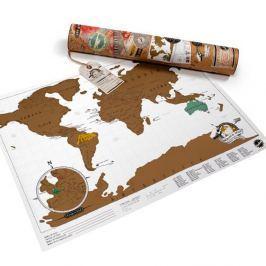 Mini kaparós világtérkép - Luckies of London