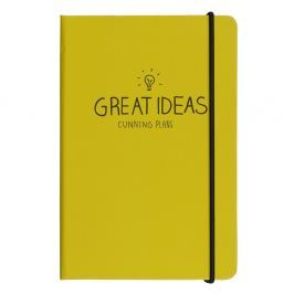 Great ITEM_IDeas Yellow Notes A5 jegyzetfüzet - Happy Jackson