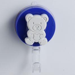 Bear kék színű fúrásmentes akasztó - ZOSO