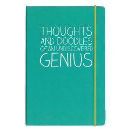 Thoughts And Doodles Notes A5 jegyzetfüzet - Happy Jackson
