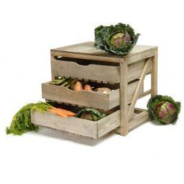 Fenyőfa zöldségtartó - Garden Trading