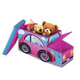 Pink Car gyerek ülőke tárolóhellyel - JOCCA