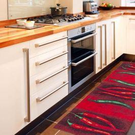Peperoncini rendkívül ellenálló konyhai futószőnyeg, 60 x 220 cm - Webtappeti