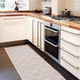 Lattice Sand rendkívül ellenálló konyhai szőnyeg, 60 x 150 cm - Webtappeti