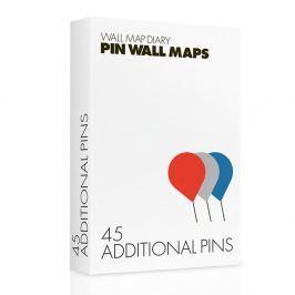 Gombostű készlet Pin World térképekhez, 45 db - Palomar