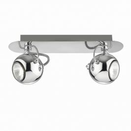 Double Point Chrome mennyezeti/fali lámpa - Evergreen Lights